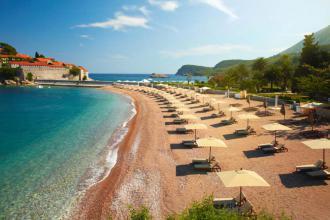 Акція на пляжний відпочинок у Чорногорії