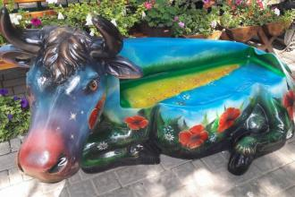 У зоопарку оселився космічно-патріотичний бик