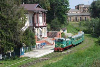 Луцька дитяча залізниця відкриває новий сезон літніх перевезень