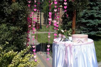 Ресторан-кондитерська Круаж Оформлення весілля фотолатерея