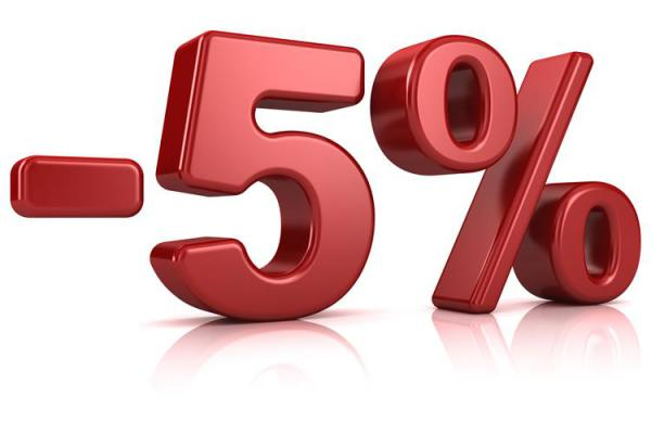 5% на кожен третій банкет