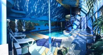 Сауна комплексу розваг та відпочинку «101 кілометр»