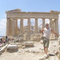 Залишки Парфенона в Афінах. Але це не я... фото #2
