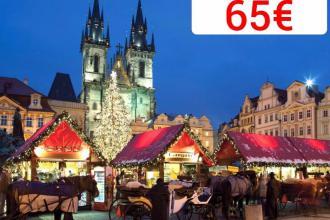 Пориньте в зимову казку різдвяних ярмарків в турах в Прагу
