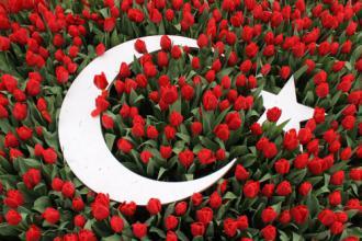 Турецький сапфир – Стамбул... (Фестиваль тюльпанів в Стамбулі)