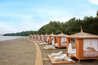 ТУРЕЧЧИНА!  ВИГІДНИЙ ТРАВЕНЬ  в одному з кращих готелів Егейського узбережжя Туреччини !