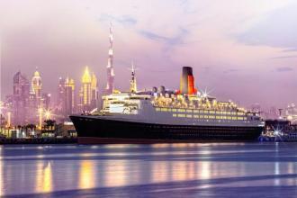 Перший плавучий готель в ОАЕ! Прекрасний океанський лайнер  Queen Elizabeth 2, категорія 5*!!!