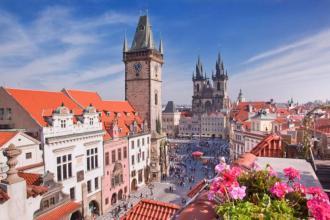 Празька цукерочка  Прага, Карлові Вари, Замок Штейнберг +Дрезден
