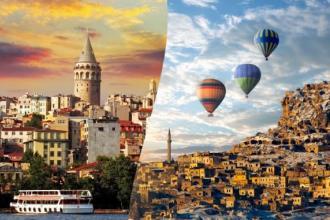 """Чудове поєднання: """"Стамбул + Каппадокія»"""