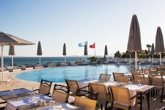 Затишний готельчик  в Бодрумі на Егейському узбережжі Туреччини
