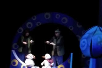 Сонечко і снігові чоловічки