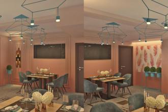 """камінна зала, Ресторан """"ZAGOROD"""" фото #3"""