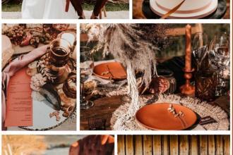 Наша палітра кольорів для весільного декору. , Грегорі Кафе фото #7
