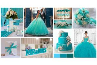 Наша палітра кольорів для весільного декору. , Грегорі Кафе фото #5