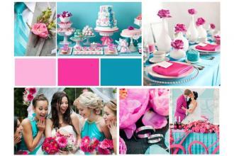 Наша палітра кольорів для весільного декору. , Грегорі Кафе фото #2