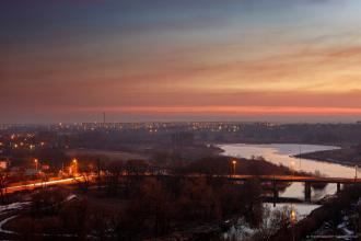 Полум'яний захід сонця (фотограф Юрій Костюк), Події міста фото #5