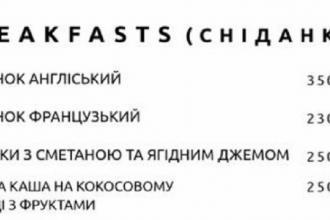 Смачні сніданки