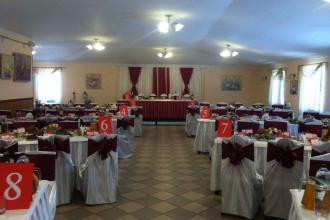 Святковий декор, Ресторан в рекреаційно-оздоровчому комплексі «Мальованка» фото #2