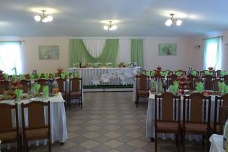 Святковий декор, Ресторан в рекреаційно-оздоровчому комплексі «Мальованка» фото #4
