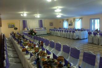Святковий декор, Ресторан в рекреаційно-оздоровчому комплексі «Мальованка» фото #5