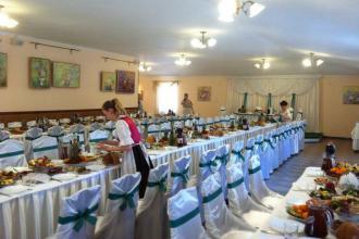 Святковий декор, Ресторан в рекреаційно-оздоровчому комплексі «Мальованка» фото #6