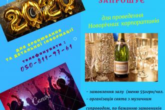 """Новорічні корпоративи у рекреаційно-оздоровчому комплексі """"Мальованка"""""""