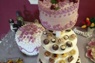 Весільні торти, Ресторан-кондитерська Круаж фото #14