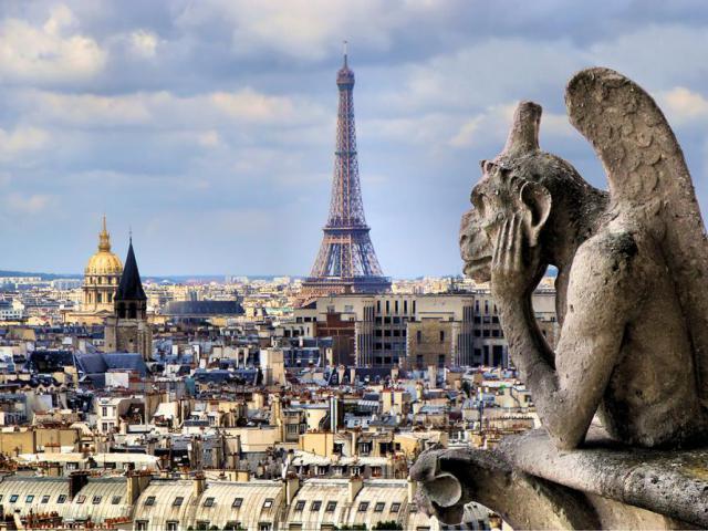фото туру Париж - місто кохання