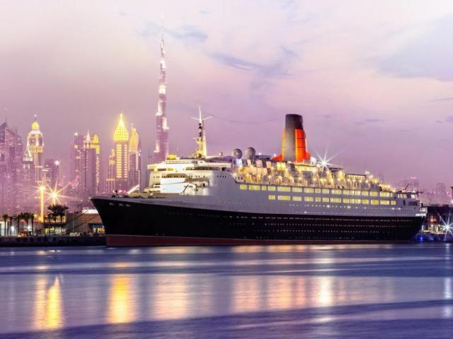 фото туру Перший плавучий готель в ОАЕ! Прекрасний океанський лайнер  Queen Elizabeth 2, категорія 5*!!!