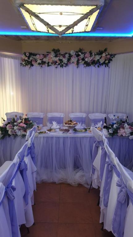 фото Декорування весільного столу для наречених в подарунок!