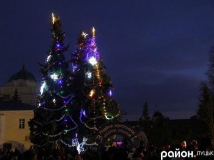 фото Програма святкування Нового року та Різдва у Луцьку